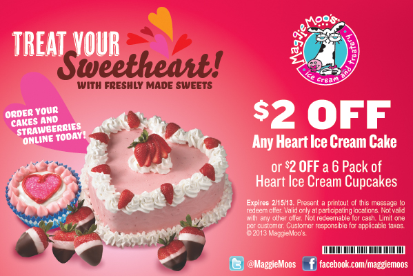 MaggieMoo's Valentine's Offer!